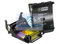 Лента черная YMCKO Real Colors для Zebra ZXP Series 1 800011-101RC